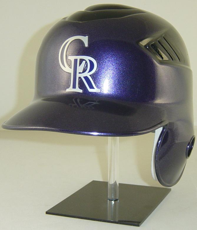 Colorado Rockies Rawlings Helmet - Coolflo Style - REC Coolflo Style