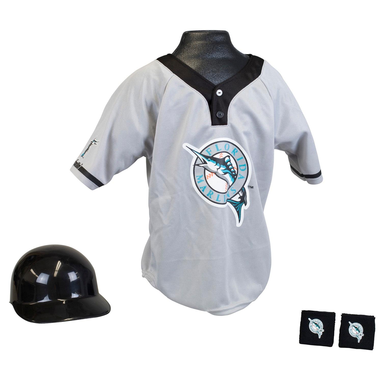Florida Marlins MLB Youth Uniform Set Halloween Costume