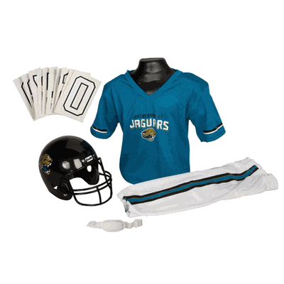Jacksonville Jaguars NFL Youth Uniform Set - Jacksonville Jaguars Uniform Small (ages 4-6)