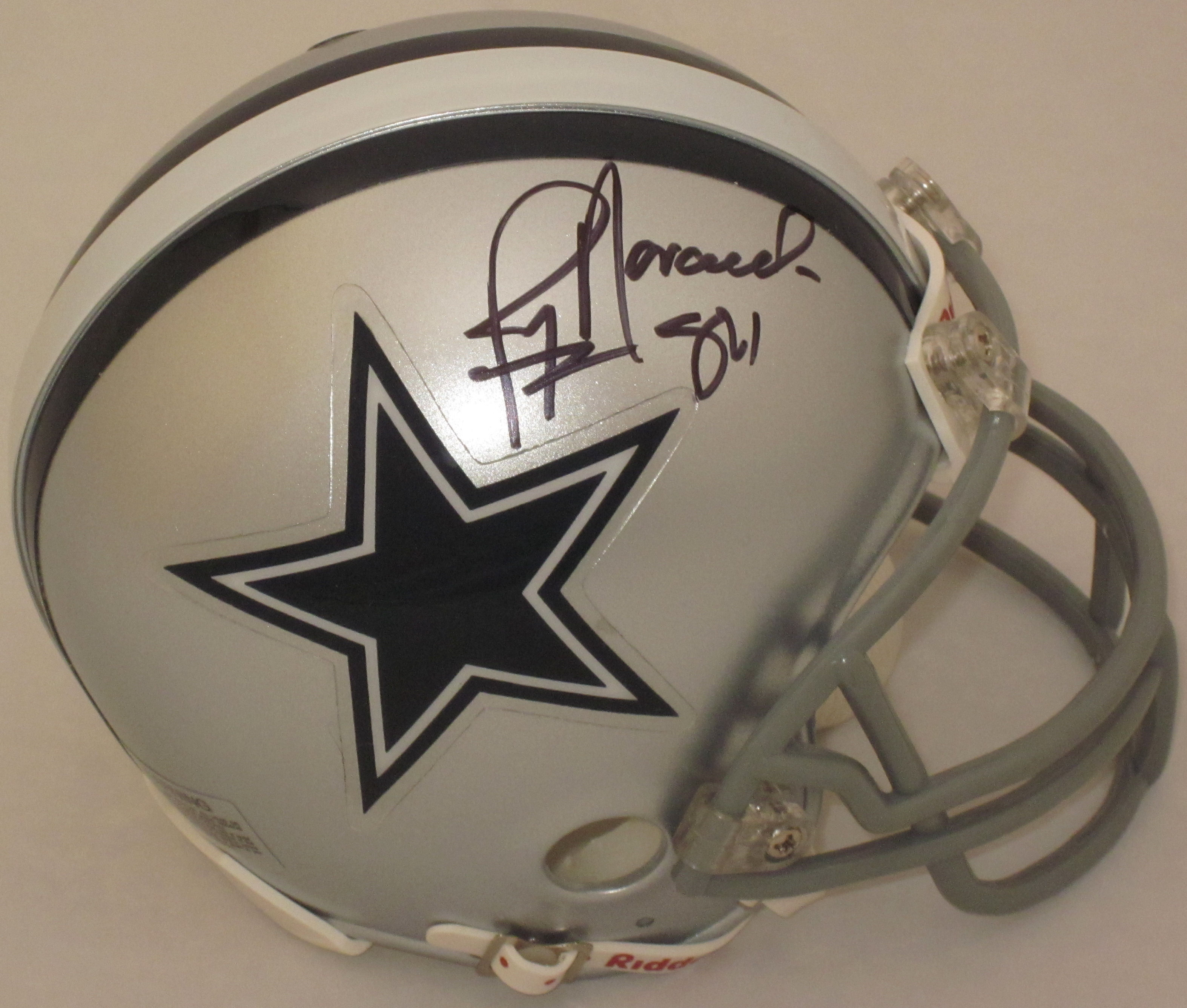 Jay Novacek Dallas Cowboys Autographed Mini Helmet