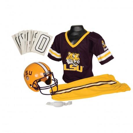 LSU Tigers NCAA Youth Uniform Set - LSU Tigers Uniform Medium (ages 7-10)