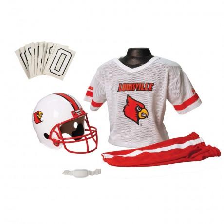 Louisville Cardinals NCAA Youth Uniform Set - Louisville Cardinals Uniform Medium (ages 7-10)