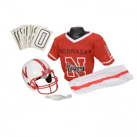 Nebraska Cornhuskers NCAA Youth Uniform Set - Nebraska Cornhuskers Uniform Small (ages 4-6)