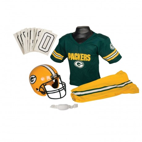 Green Bay Packers NFL Youth Uniform Set - Green Bay Packers Uniform Small (ages 4-6)