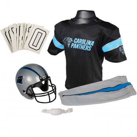 Carolina Panthers NFL Youth Uniform Set - Carolina Panthers Uniform Medium (ages 7-10)