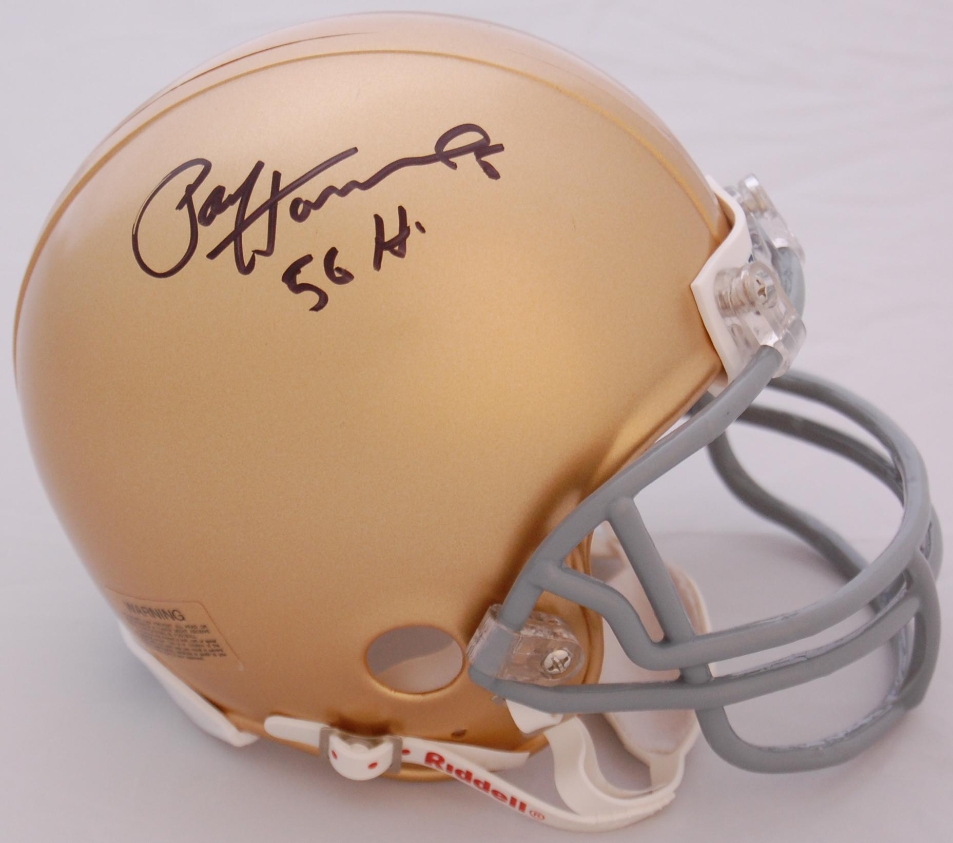 Paul Hornung Notre Dame Fighting Irish Autographed Mini Helmet