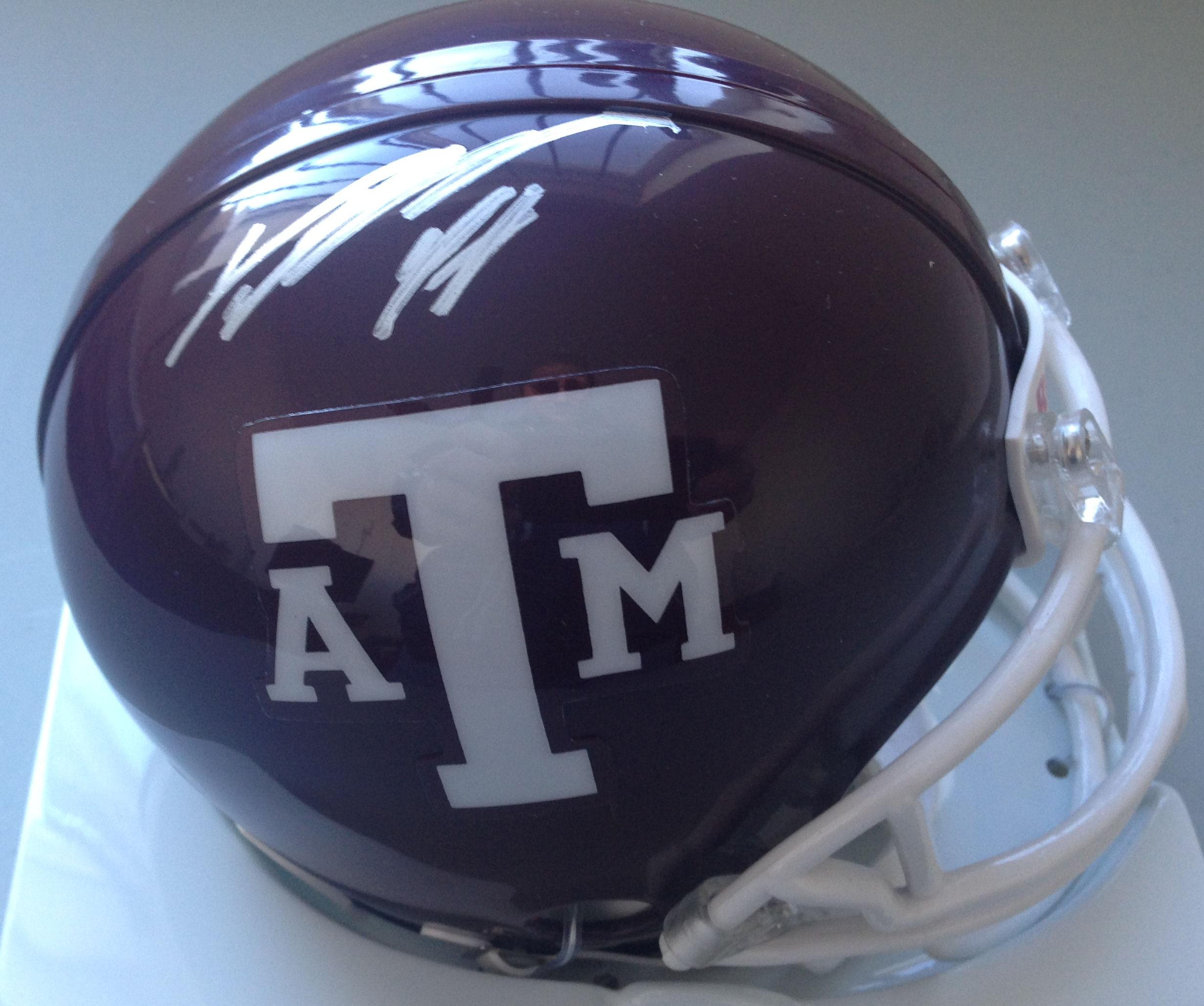 Von Miller Texas A&M Aggies Autographed Mini Helmet