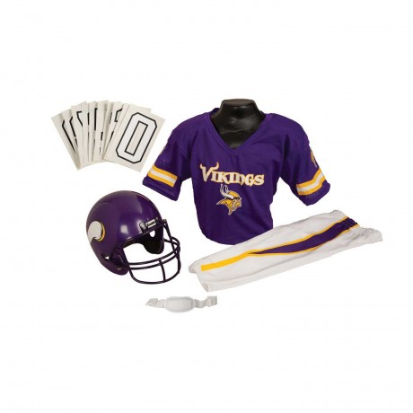 Minnesota Vikings NFL Youth Uniform Set - Minnesota Vikings Uniform Small (ages 4-6)