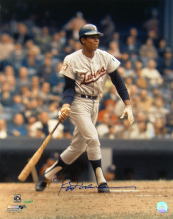 Rod Carew Minnesota Twins Autographed 16x20 Photo