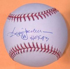 Reggie Jackson New York Yankees Autographed Official Major League Baseball