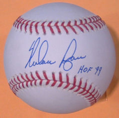 Nolan Ryan Houston Astros Autographed Official Major League Baseball