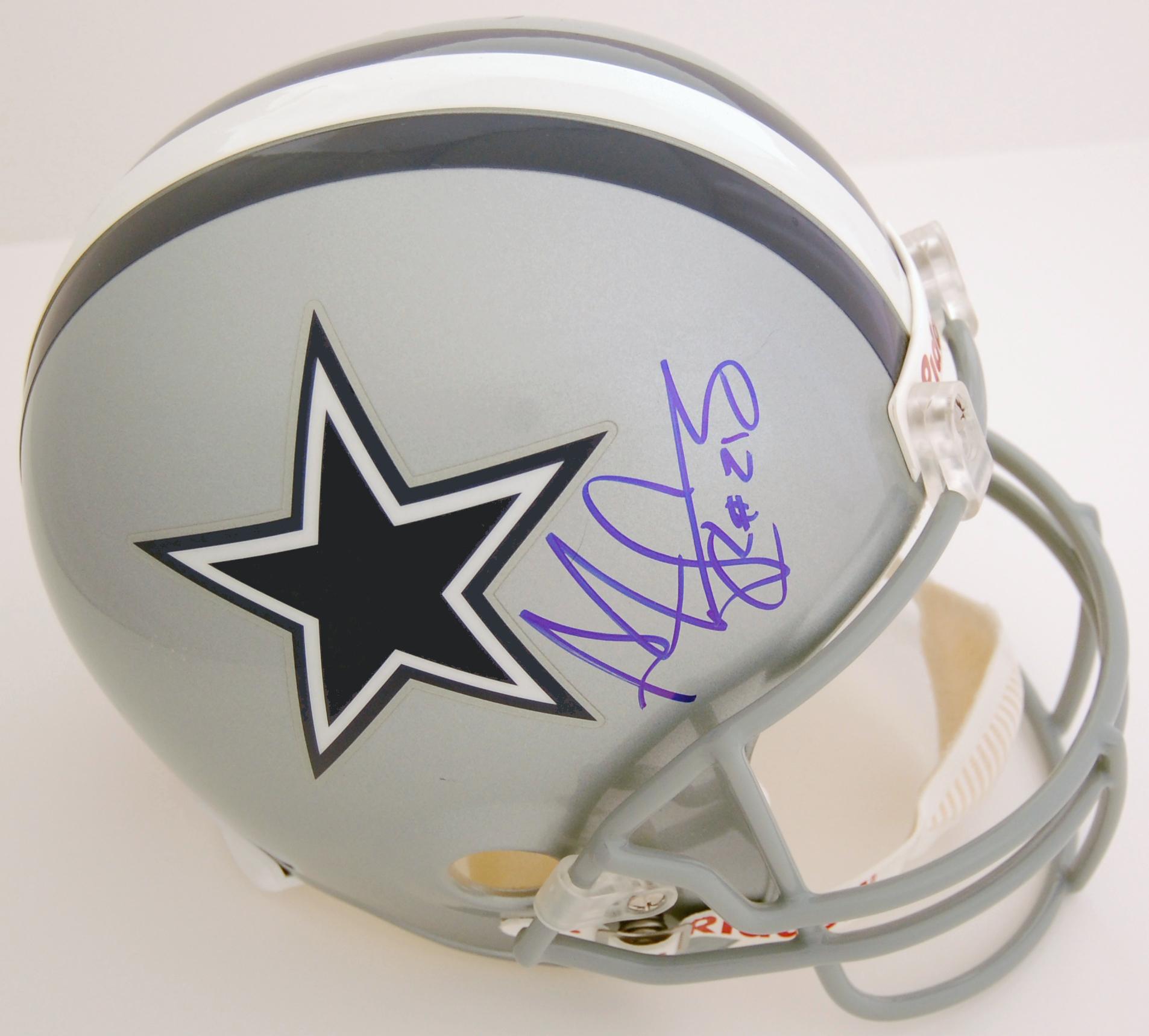 Adam Pacman Jones Dallas Cowboys Autographed Full Size Replica Helmet