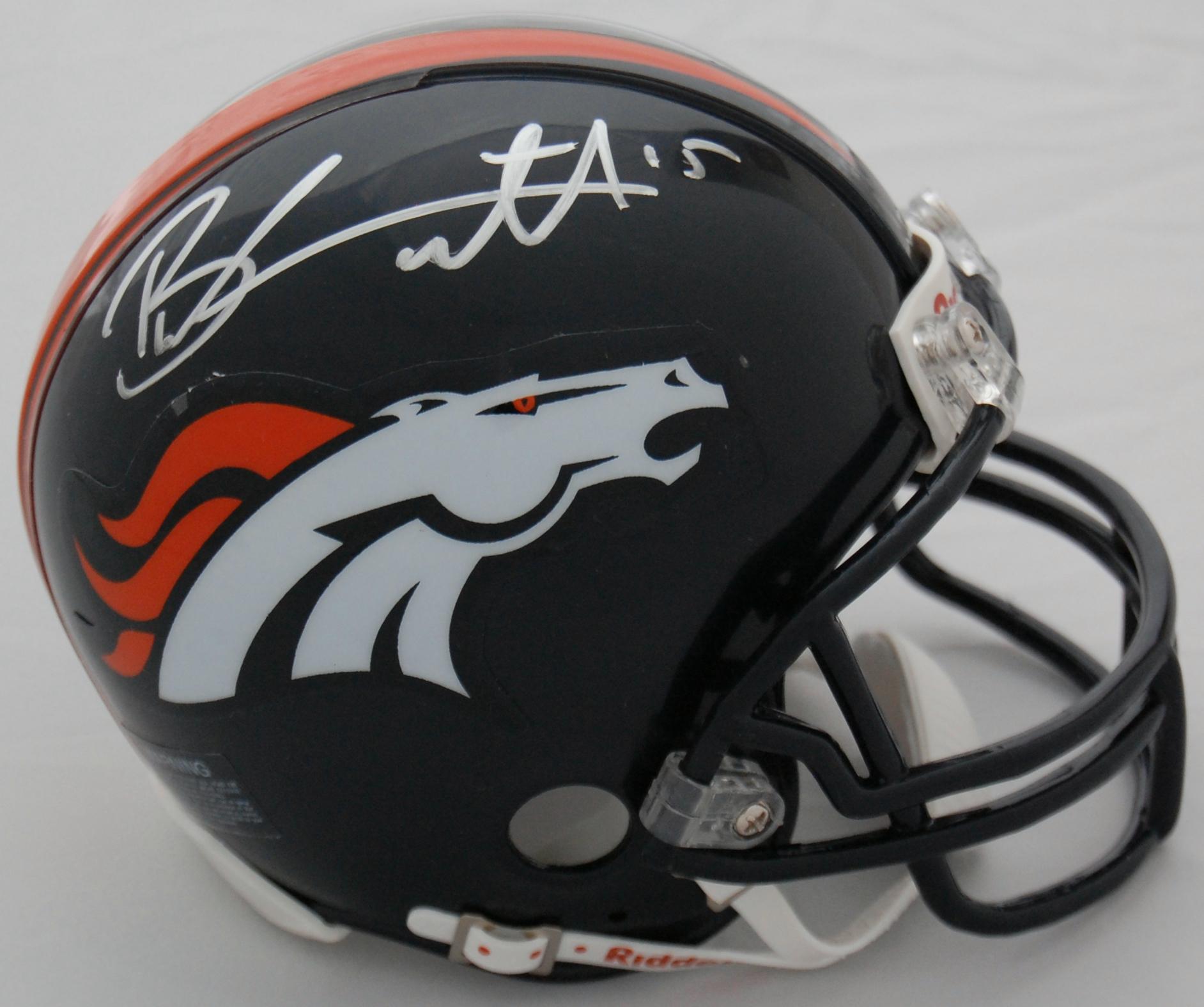 Brandon Marshall Denver Broncos Autographed Mini Helmet