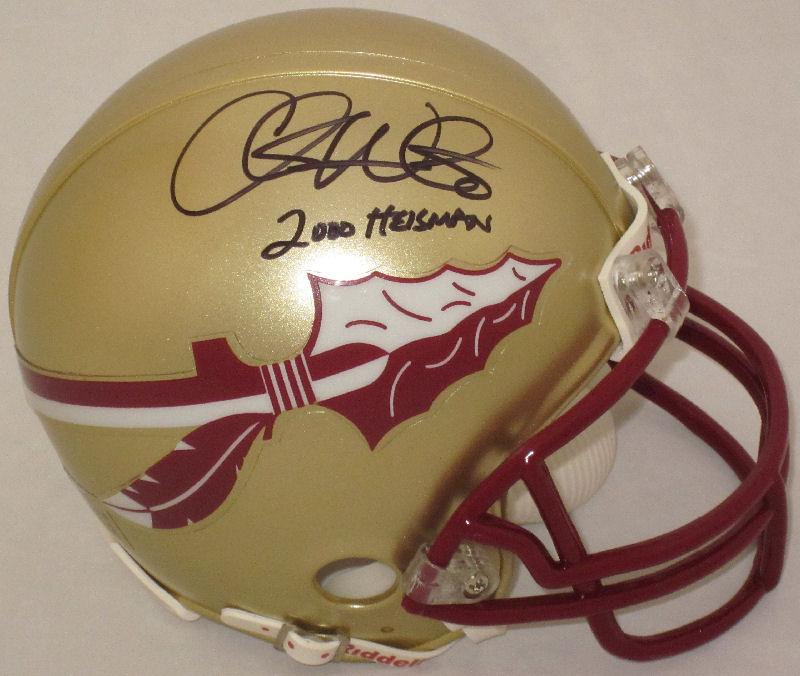 Chris Weinke Florida State Seminoles Autographed Mini Helmet