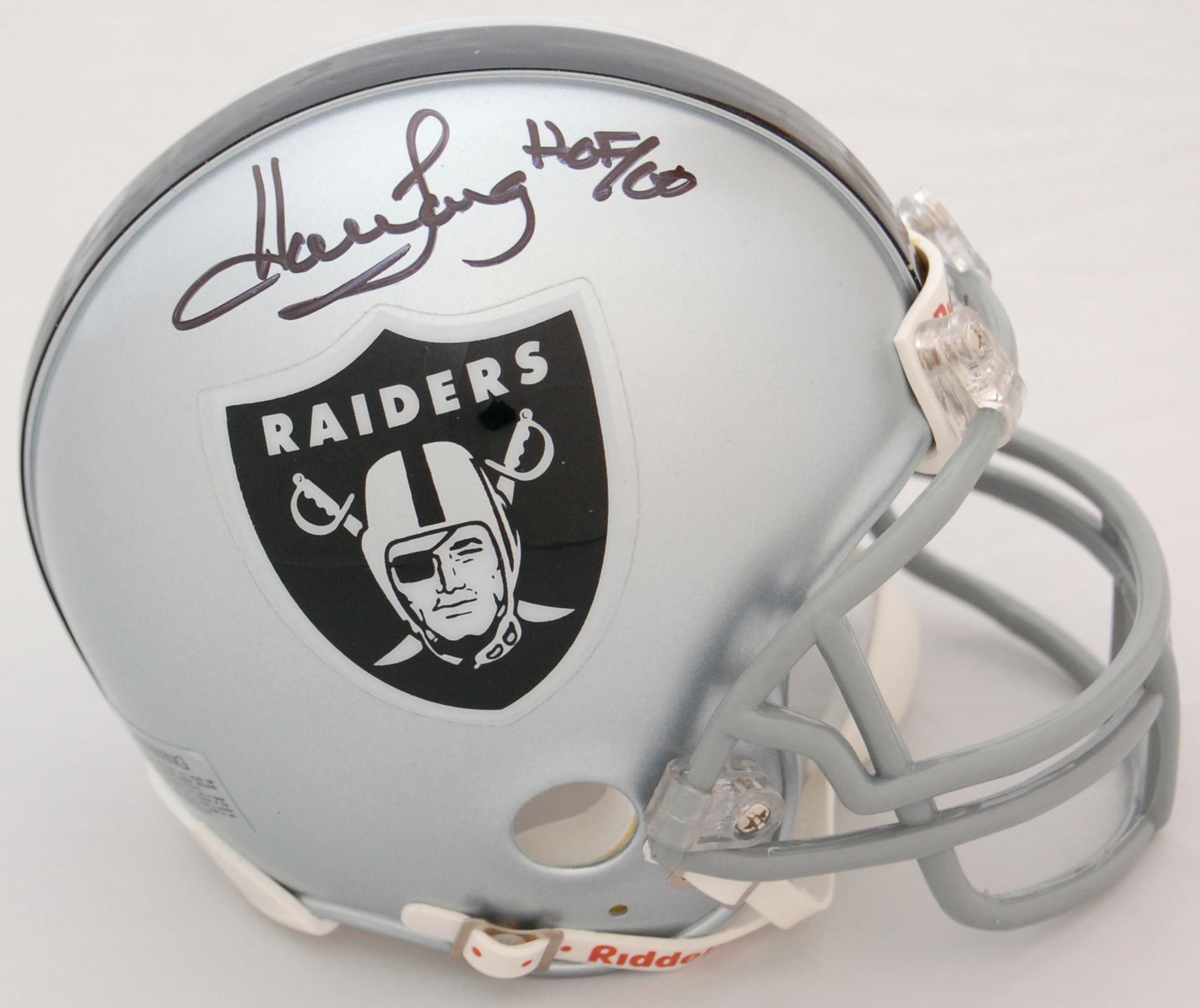 Howie Long Oakland Raiders Autographed Mini Helmet