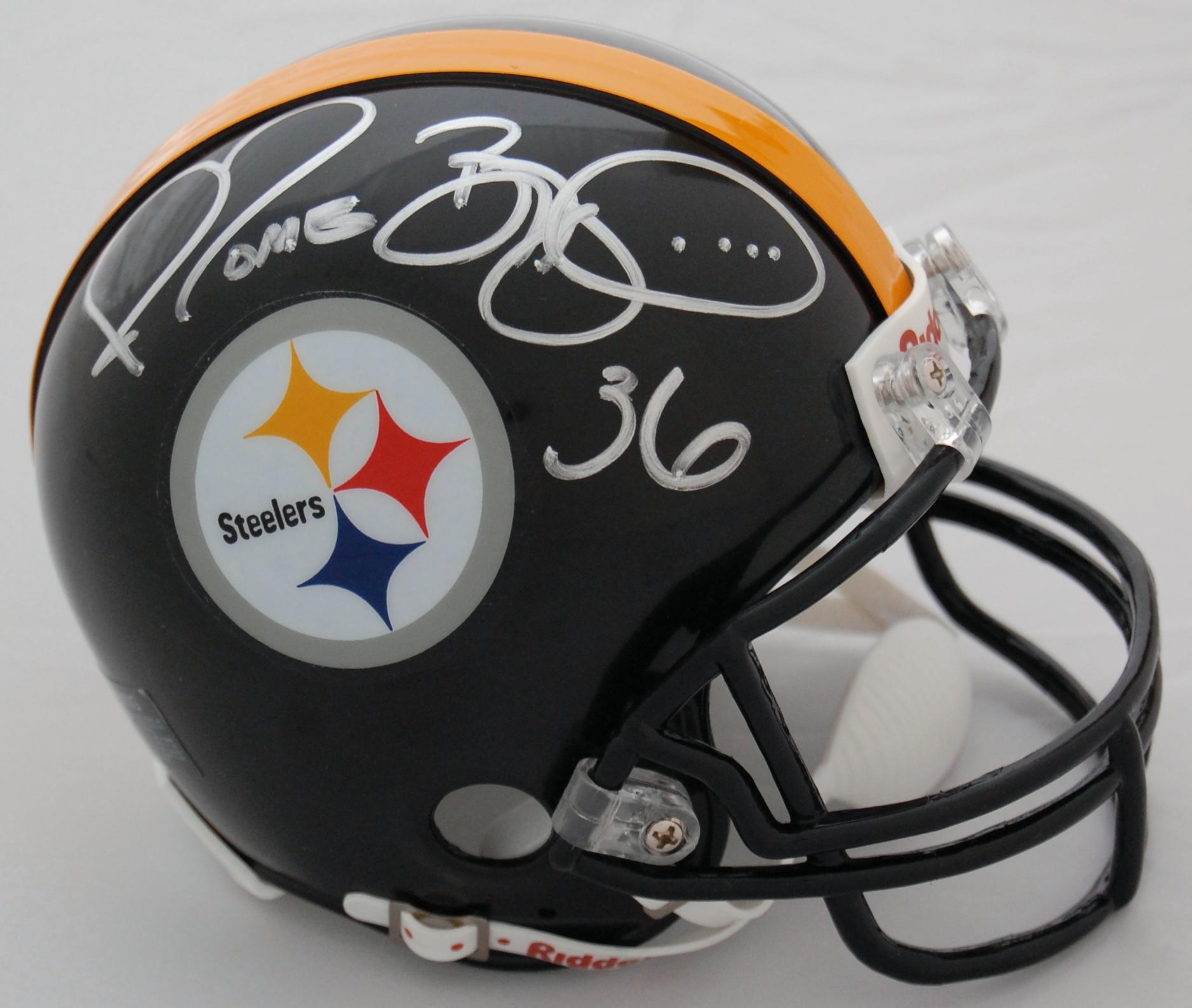 Jerome Bettis Pittsburgh Steelers Autographed Mini Helmet