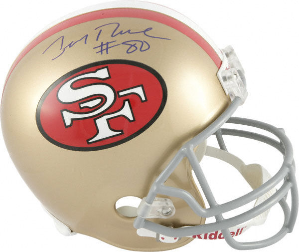 Jerry Rice San Francisco 49ers Autographed Full Size Replica Helmet