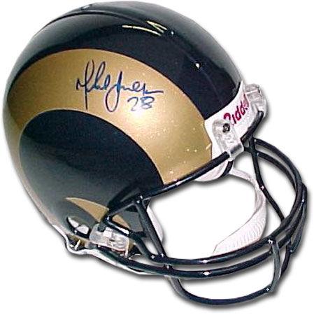 Marshall Faulk St. Louis Rams Autographed Full Authentic Helmet SALE