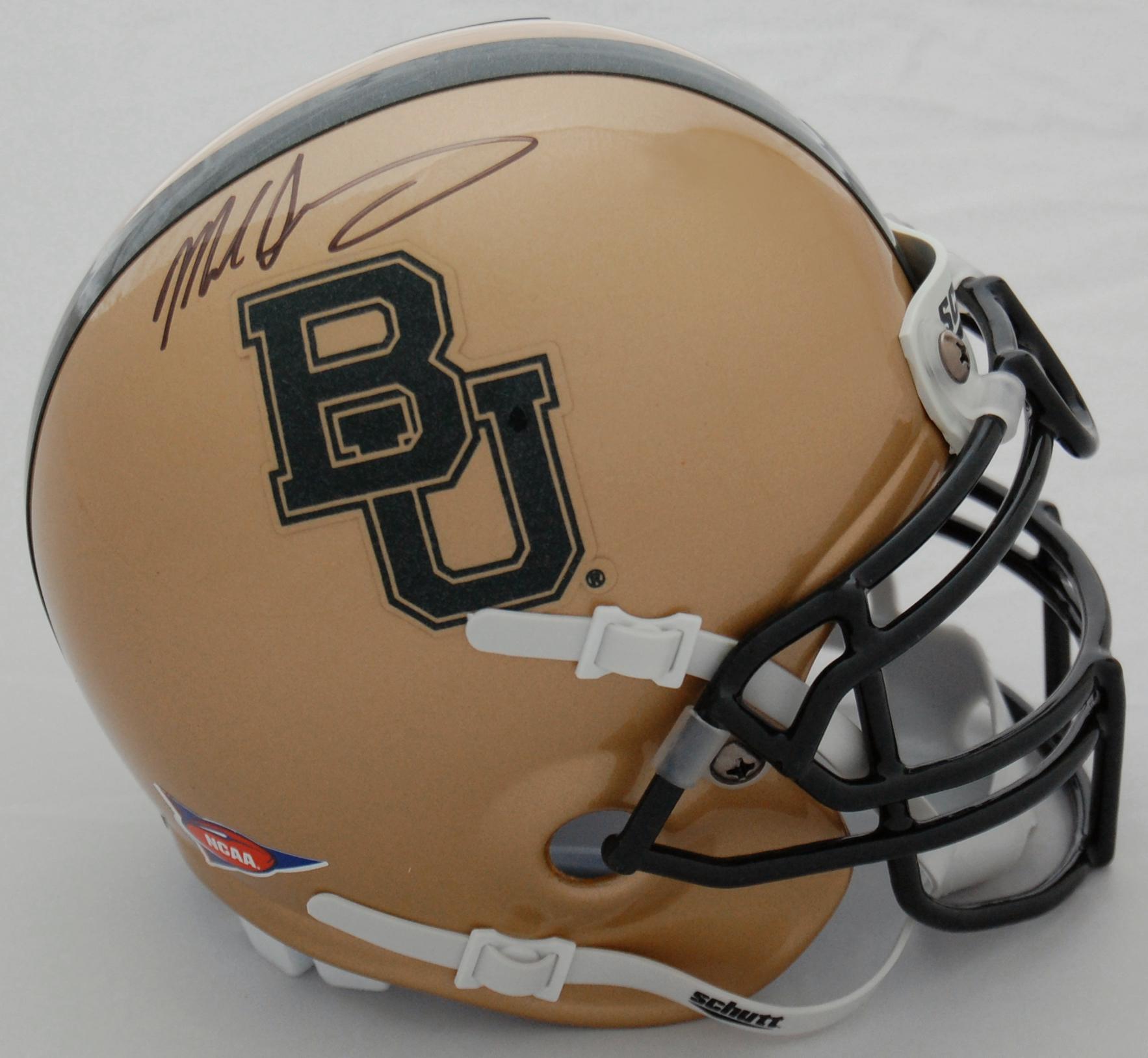 Mike Singletary Baylor Bears Autographed Mini Helmet
