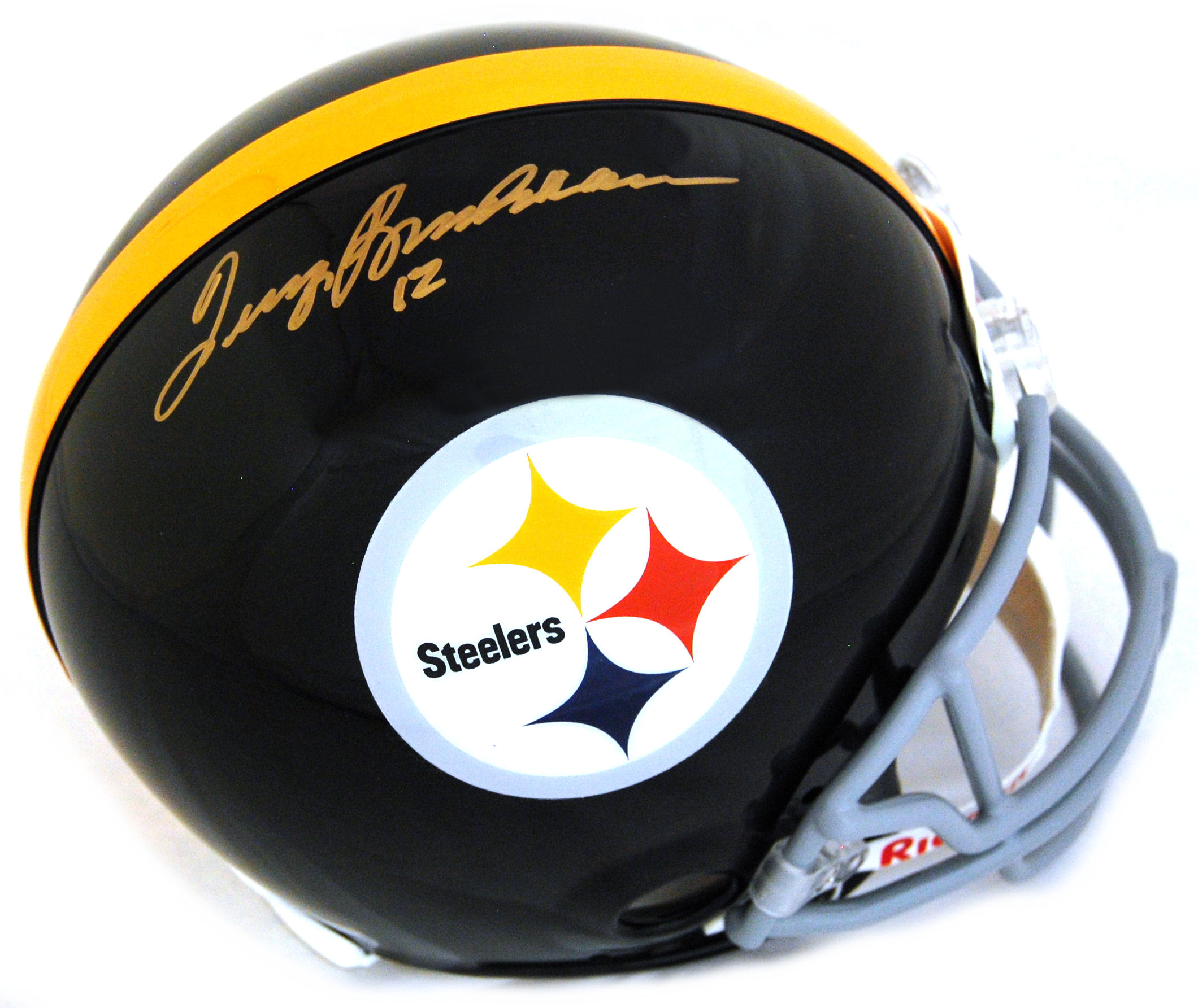 Terry Bradshaw Pittsburgh Steelers Autographed Full Size Authentic Helmet