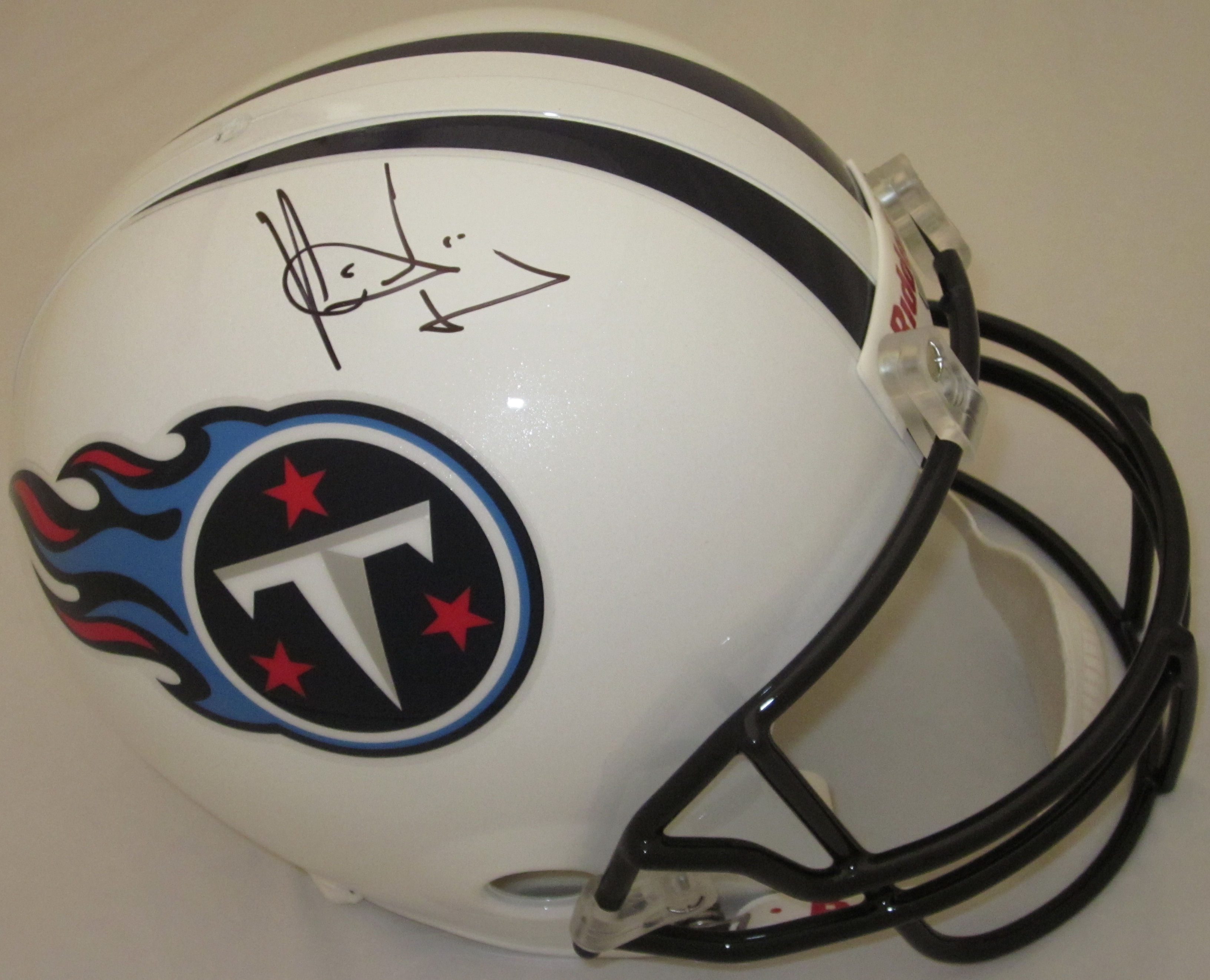 Vince Young Tennessee Titans Autographed Full Size Replica Helmet